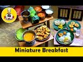 Miniature cooking Sarakku Master : Breakfast SPL | Episode # 3 | Miniature Cooking | Tiny Foods