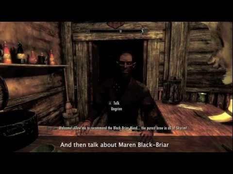 Skyrim :D How to level up your speech really fast