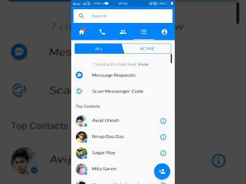 How to turn off chat in facebook messenger android app
