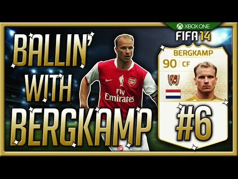 Ballin' with Bergkamp! #6 - Building up the 2nd squad!!! FIFA 14 Ultimate Team Road To Glory!