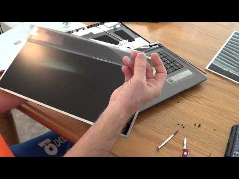 Laptop screen replacement / How to replace laptop screen on an Acer Aspire 7750G-6645