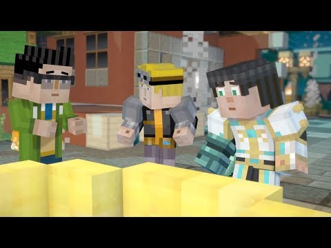 Look What We Found!  Minecraft Story Mode Season 2 Episode 2 Part 4 Twin Toys Kids