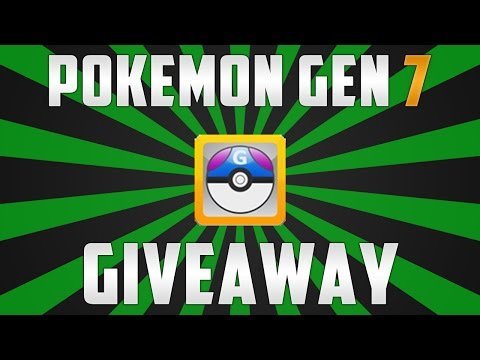 Pokemon Gen 7 Pokemon Files Giveaway