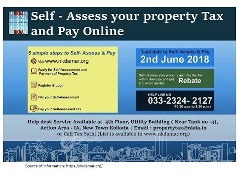 How to Pay NKDA Property TAX online? Self Assess Your Property TAX & Pay Online