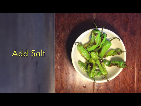 Quickest & Easiest Shishito Pepper Recipe