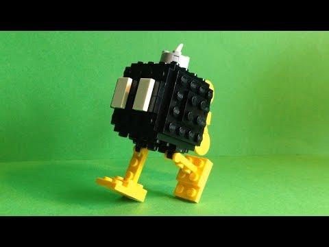 How To Build: LEGO Bob-omb (Super Mario)