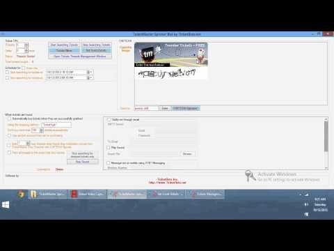TicketMaster com Spinner Bot