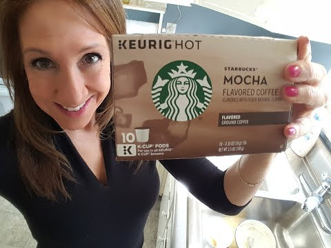 Starbucks Mocha Flavored Coffee for the Keurig