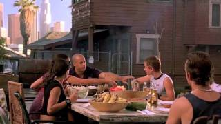 Fast and Furious BBQ scene