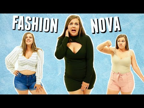 Brutally Honest Fashion Nova Try On Haul & Review || Sierra Schultzzie