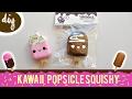 DIY Kawaii Mini Popsicle Homemade Squishy | mishcrafts