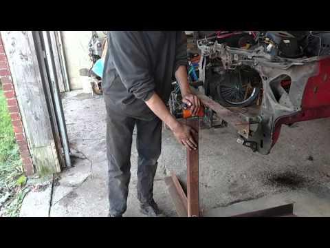 Fox body DIY rotisserie Fairmont update