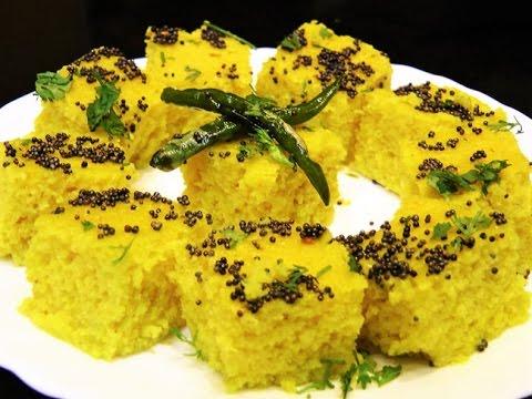 Microwave Dhokla Recipe - How to Make Soft and Spongy Dhokla-Khaman Dhokla-Besan Dhokla