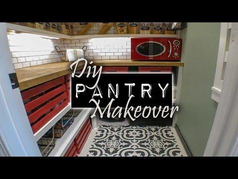 DIY Pantry Re-design   Home Design Ideas