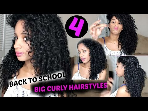 4 Back To School ILazyl Big Curly Hairstyles