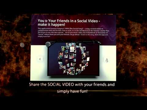 You & Your Friends in a Social Video | Trailer for Enigma's Facebook App