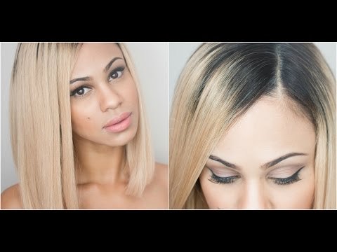 How I Apply My Full-Lace Wigs: Natural Looking Part