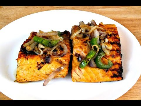 How to Cook Grilled  Lemon Pepper Salmon