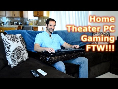 Home Theater Mouse and Keyboard Setup