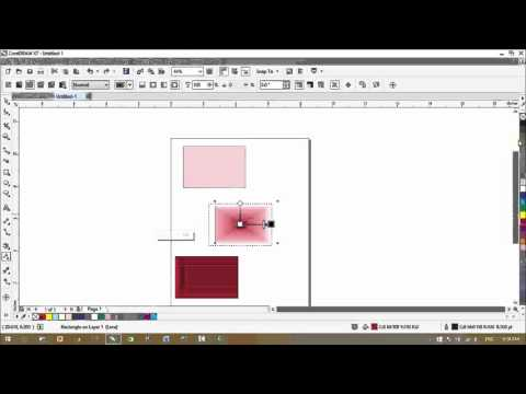 CorelDraw X7 Tutorials - Transparency Tool