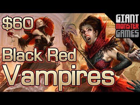 Budget Modern Deck Tech - Black Red Vampires ($60)