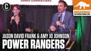 Power Rangers: Jason David Frank & Amy Jo Johnson - Amazing Con Las Vegas 2019