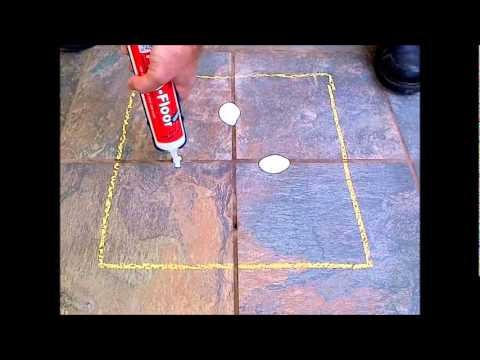 How-To Fix Loose & Hollow Tile Floors: Don't Remove or Replace! Just Drill & Fill!