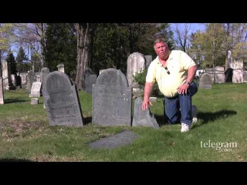 Erik Larson restores old gravestones