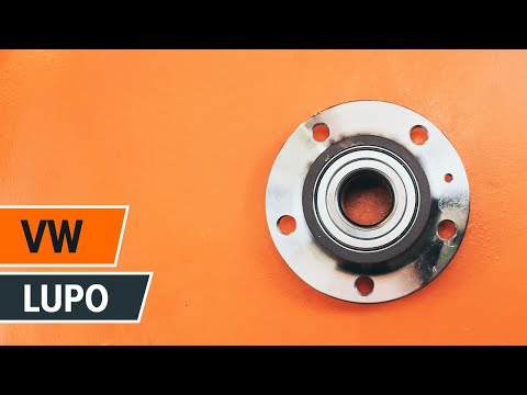 How to replace rear wheel bearing VW LUPO TUTORIAL | AUTODOC