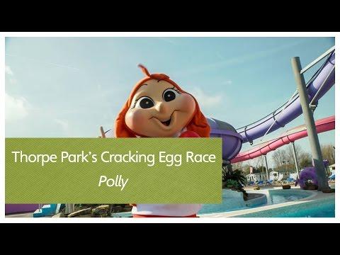 Thorpe Park's Cracking Egg Race - Polly