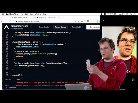 Expo Components - Lecture 8 - CS50's Mobile App Development with React Native