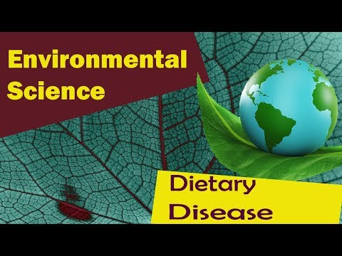 Diseases Caused By Pollution | Dietary Disease | Part 2 - Environmental Science