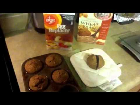 Whole Foods Diet:  Vegan Bran Muffins
