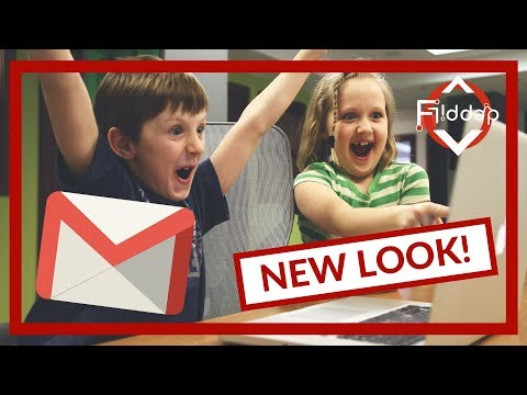 A NEW look for Gmail and you will love it!