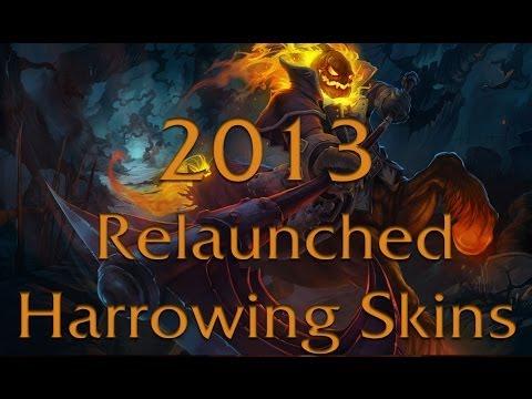 All Harrowing Skins - Skin Spotlight - League of Legends