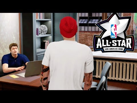 FINDING OUT IF I MADE THE ALL STAR GAME! NBA 2K18 My Career #10