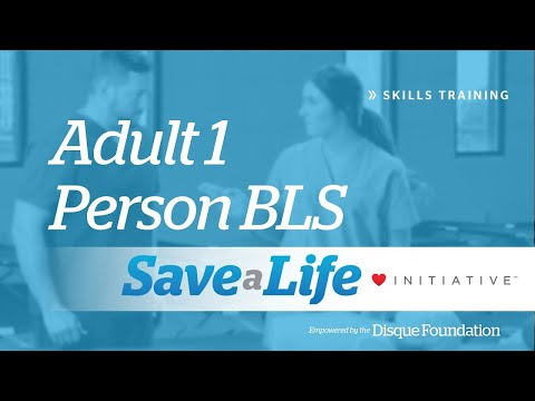 Adult 1 Person BLS