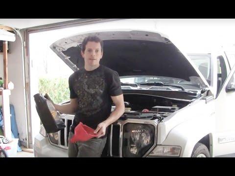 Jeep Liberty 2011 oil change DIY