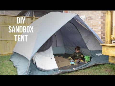 DIY Sandbox Tent