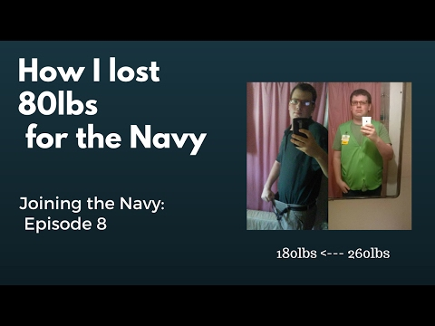 How I Lost 80lbs For the Navy