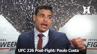 UFC 226: Paulo Costa Calls Out Weidman After KO-ing Uriah Hall