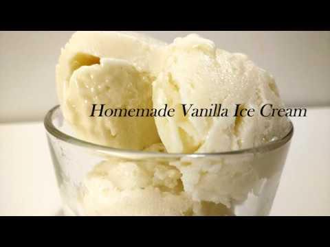 Easy Homemade Vanilla Ice Cream Without Egg/No Condensed Milk/No Ice cream Machine/3 Ingredients