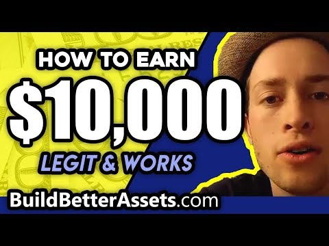 How to make 10,000 dollars fast - (not EASY, but WORKS)