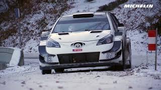 Lappi testing - 2018 WRC Rallye Monte-Carlo - Michelin Motorsport