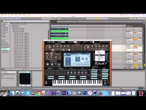 How to Make  Trance Rolling Baseline layered  with Sylenth 1 & Spire Vst by Project 8
