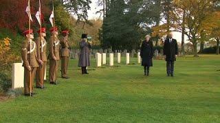 İngiltere Ve Belçika Başbakanı Birinci Dünya Savaşı