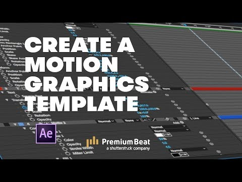How to Create a Motion Graphics Template | PremiumBeat.com