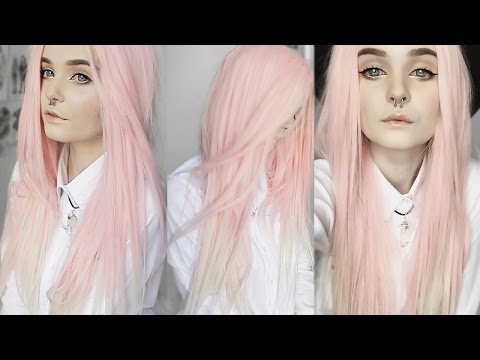 ♡ How I style my lace front wig // How to make wigs look natural