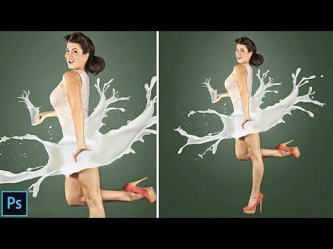 splash water effect in photoshop tutorial cc and CS6 Urdu / Hindi