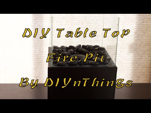 DIY Table Top Fire Pit